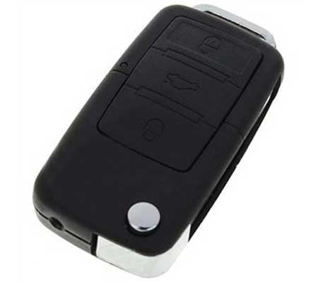 Motion Activated Car Keychain Camera - Built-in DVR