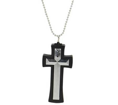 Necklace (Cross) Hidden Spy Camera with DVR