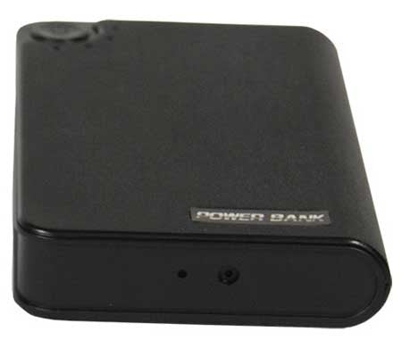 HD Power Bank Hidden Spy Camera with DVR