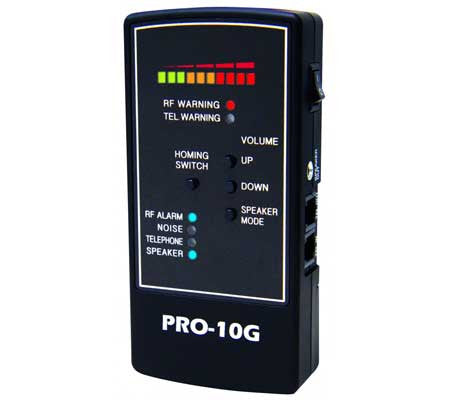 pro grade bug detector - private investigators - detectives - protect your privacy