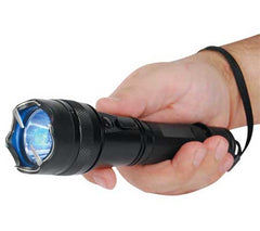 High-Powered Stun Gun Flashlight - Shorty