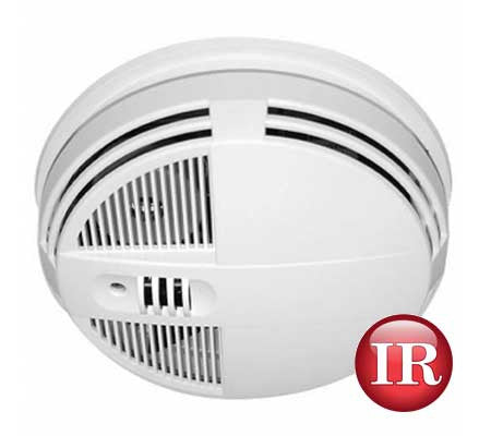 night vision motion activated smoke detector covert dvr