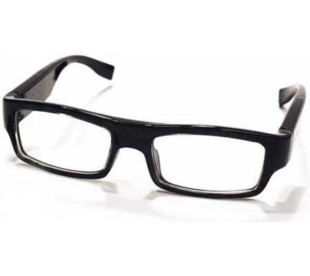HD Covert Spy Glasses Hidden Camera with DVR