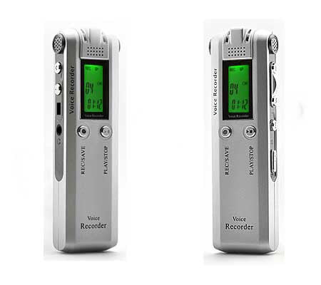 Stereo Phone and Voice Recorder