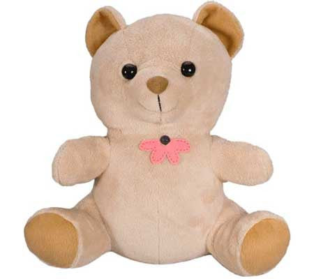 cute teddy bear fully motion activated security camera