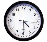 Wall clock - spy camera - home security - surveillance video