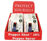 Wholesale OC Pepper Spray - 12 Keychains