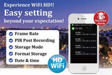 HD Wi-Fi Electrical Box Rechargeable Hidden Camera (Internet)