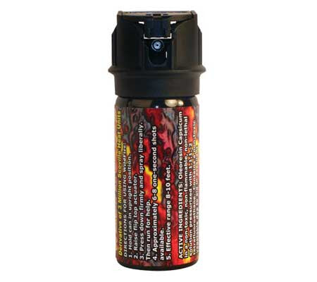 wildfire 18% extra hot pepper spray - self defense - personal protection - survival tips - techniques