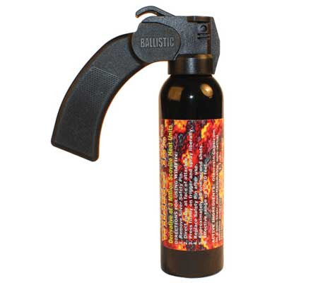 self-defense pepper spray fogger wildfire - protection