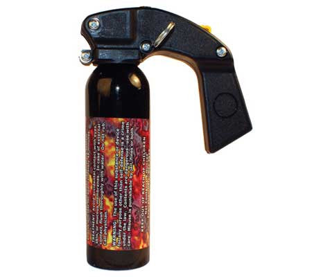 gel pepper spray - self-defense - self protection