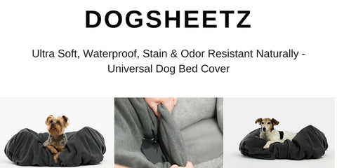 DogSheetz waterproof dog bed cover