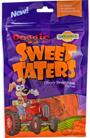 Sweet taters dog treats