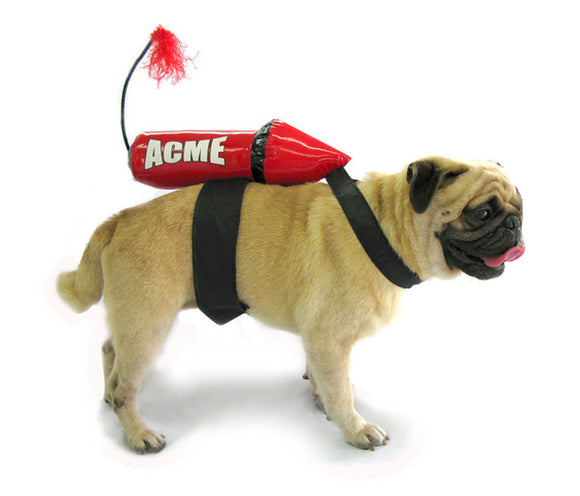 Acme Rocket Dog Costume - Really Good Pets Shop - Costume -  - PuppeLove