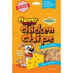 Cheesy Doggie Chicken Chips