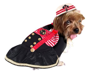 Captains Mate Dog Costume - Really Good Pets Shop - Costume -  - PuppeLove - 1