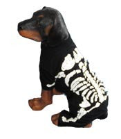 Dog Skeleton Dog Costume - Really Good Pets Shop - Costume -  - PuppeLove