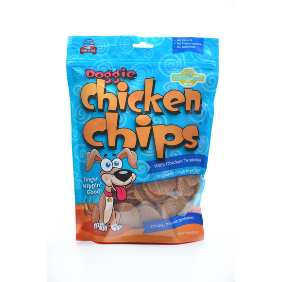 Doggie Chicken Chips Dog Treats