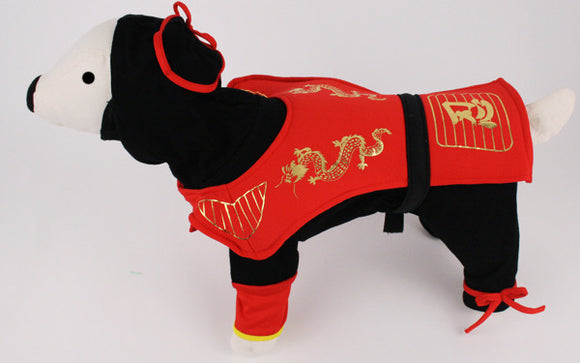 Dragon Ninja Dog Costume - Really Good Pets Shop - Costume -  - PuppeLove