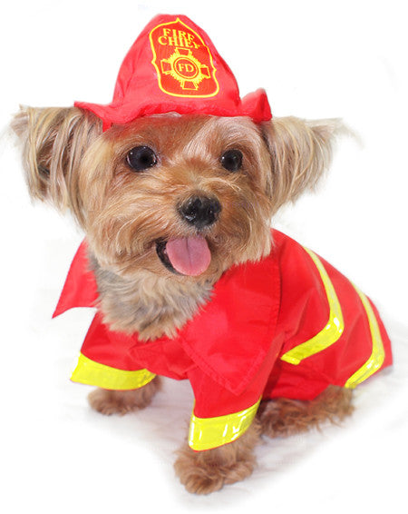 Fireman Dog Costume - Really Good Pets Shop - Costume -  - PuppeLove