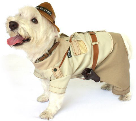 Indiana Jones Dog Costume - Really Good Pets Shop - Costume -  - PuppeLove