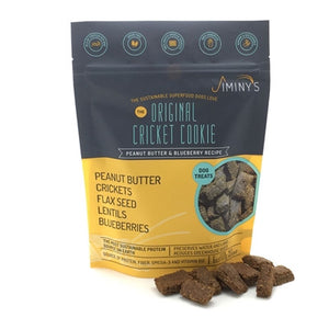 Jiminy's Peanut Butter & Blueberry Cricket Dog Treat