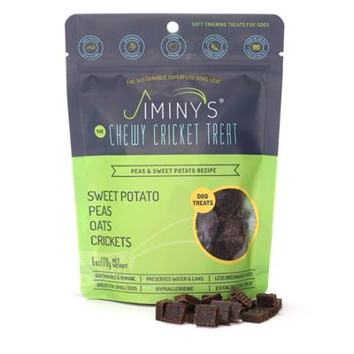 Jiminy's Cricket Peas and Sweet Potato Soft and Chewy Dog Treats
