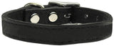 Plain Leather Dog Collar - Really Good Pets Shop - Leather Collar - 10 / Black - Mirage Pet Products - 2