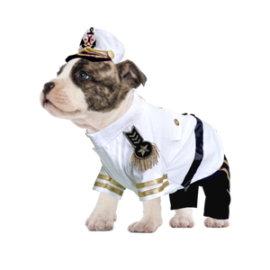 Yacht Admiral Dog Costume - Really Good Pets Shop - Costume -  - PuppeLove - 1