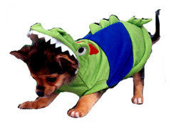 Crocodile Dog Costume - Really Good Pets Shop - Costume -  - PuppeLove