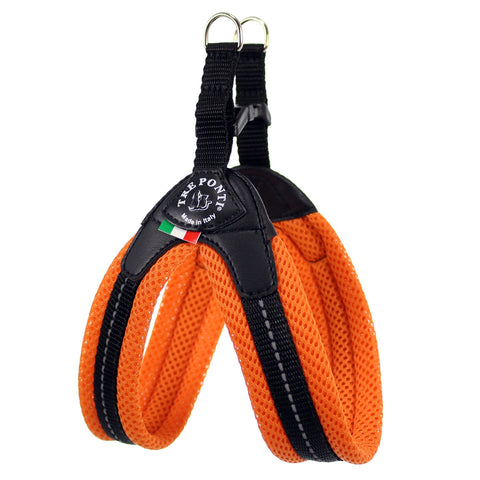 Mesh Buckle Tre Ponti Dog Harness - Really Good Pets Shop - Harness - 1 / Orange - Tre Ponti - 6