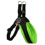 Mesh Neon Adjustable Belly Tre Ponti Dog Harness - Really Good Pets Shop - Harness - 1 / Green - Tre Ponti - 8