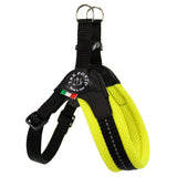 Mesh Neon Adjustable Belly Tre Ponti Dog Harness - Really Good Pets Shop - Harness - 1 / Yellow - Tre Ponti - 5
