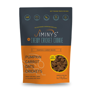 Jiminy's Chewy Cricket Treat Pumpkin Carrot Oats