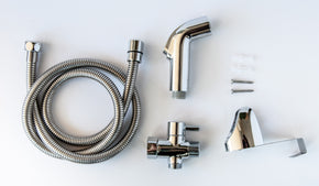 all the parts needed for the nadeef hand held bidet installation