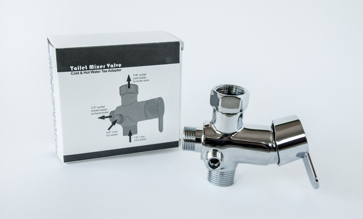 the hot water mixer valve for the nadeef bidet