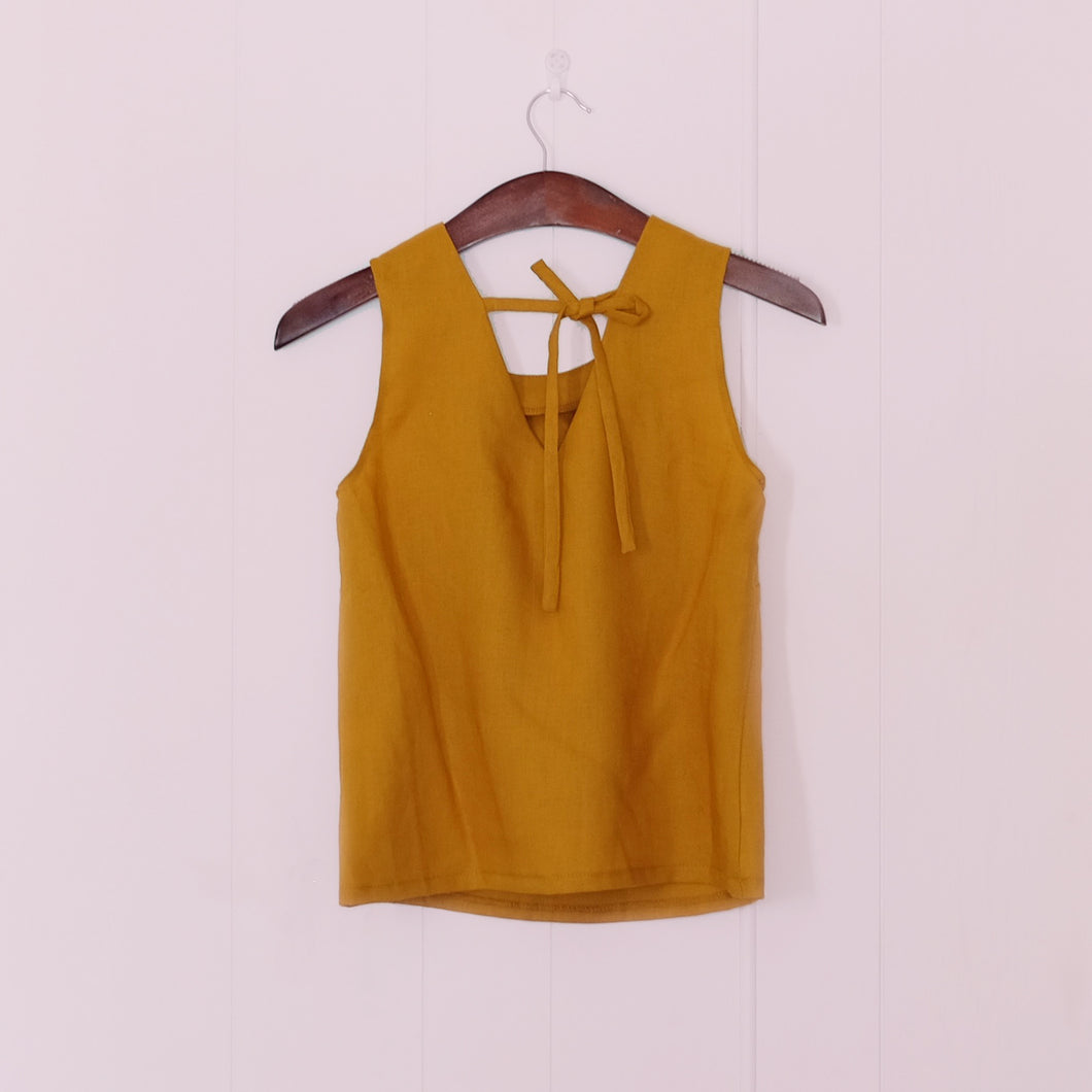 Bloom Top // Mustard