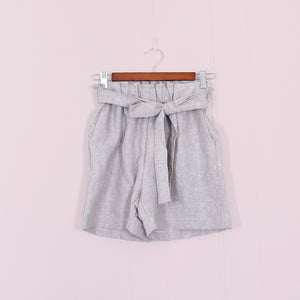 Paperie Short // Silver