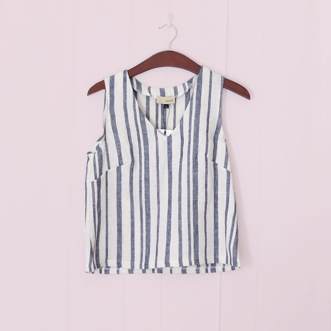 Hana Top // Stripe