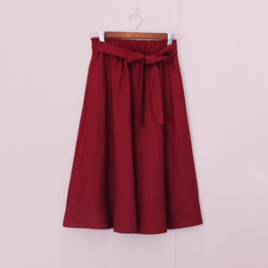 Paperie Skirt // Wine