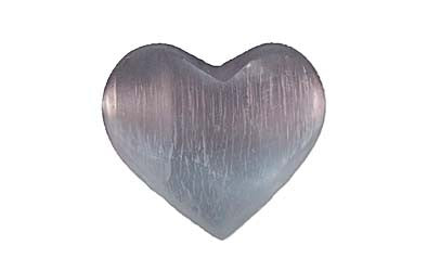 Selenite Heart - Large