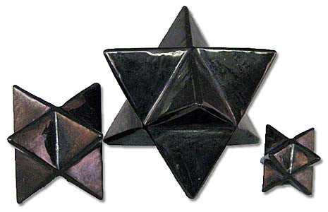 Shungite Merkaba Medium