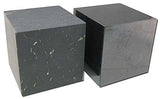 Shungite Polished Cube 3-1/2 inch