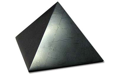 Shungite Pyramid Polished 1.7 inch