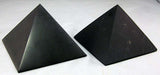 Shungite Pyramid Unpolished 1.3 inch