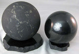 Shungite Sphere Stand Small