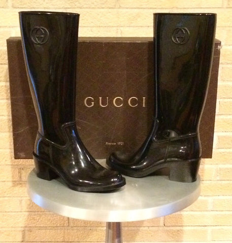 The Shoe Collection: New Gucci Rainboots, Euro Size 38 / US Size 8