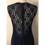 On Second Thought: Navy Evening Gown