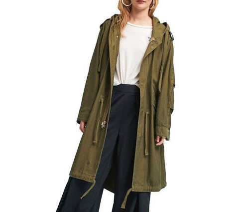 On Second Thought: Army Green Trench Coat