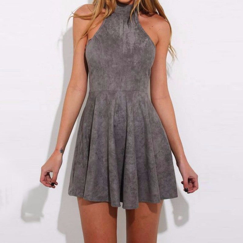 On Second Thought: Halter Mini-Dress